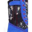 Ботинки с высокими берцами Голубой взрыв 6954881101599