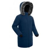 Куртка пуховая женская BASK ISIDA темно-синяя