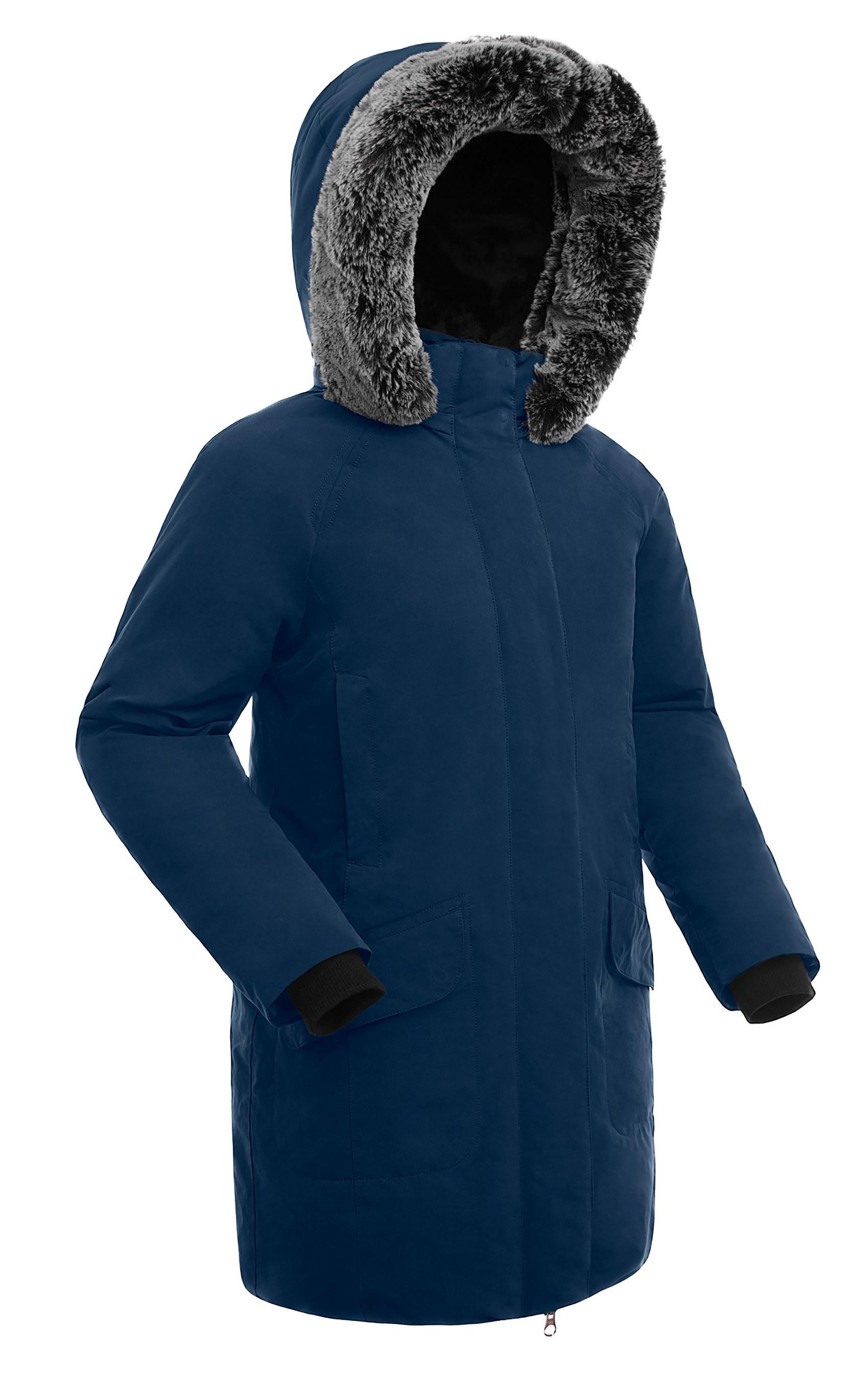 c0cbe7a3ef7d Куртка пуховая женская BASK ISIDA темно-синяя, производитель ...
