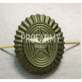 Кокарда РА малая металлическая защитная
