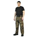 Брюки мужские Захват, камуфляж, ткань Грета Питон коричневый