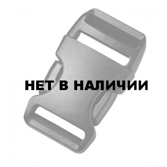Пряжка фастекс 25мм 1-07005/1-06359 (2 части) одна регулировка черный Duraflex