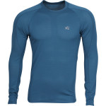 Термобелье футболка L/S Active Thermal Grid light морская волна