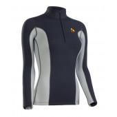Термобелье куртка BASK T-SKIN LADY JACKET серый тмн/серый свтл