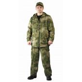 Костюм ТУРИСТ 2 куртка/брюки цвет:, камуфляж Атака, ткань : Твил Пич