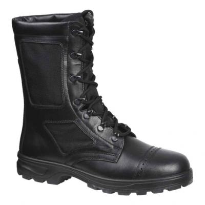 Ботинки облегченные с высоким берцем (кожа-нейлон) БОЕЦ M09004