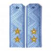 Погоны ФСБ генерал-лейтенант на синюю рубашку повседневные