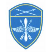 Шеврон Росгвардия Восточный округ Авиационные в/ч люрекс
