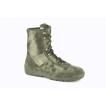 Легкие демисезонные ботинки с высокими берцами из прочной дышащей нейлоновой ткани расцветки «мох» М.12232 КОБРА