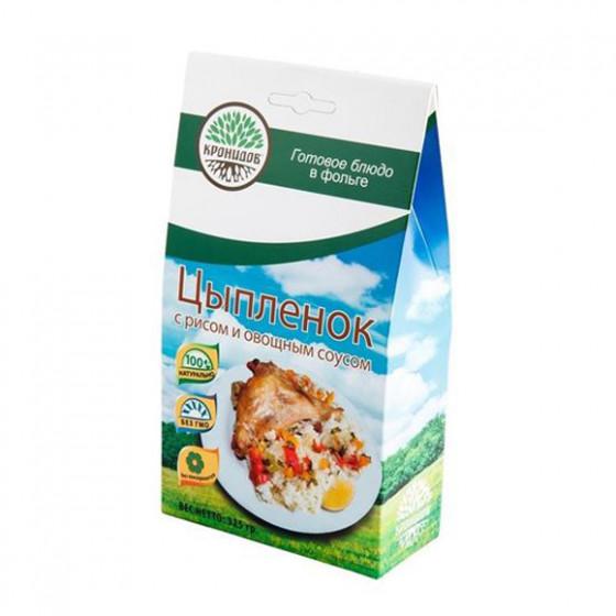 Готовое блюдо Мясо цыплёнка(филе) в собственном соку 250г. (Кронидов)