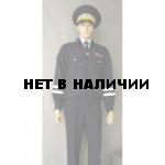 Костюм ДПС темно-синий летний габардин (двое брюк)