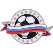 Термонаклейка -15561169 Российский футбольный мяч вышивка