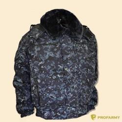 Куртка зимняя П-1 цифра МВД (оксфорд)