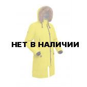 Пальто пуховое женское BASK HATANGA V2 желтое