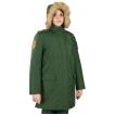 Куртка женская всесезонная МПА-82 (ткань рип-стоп мембрана) зеленая