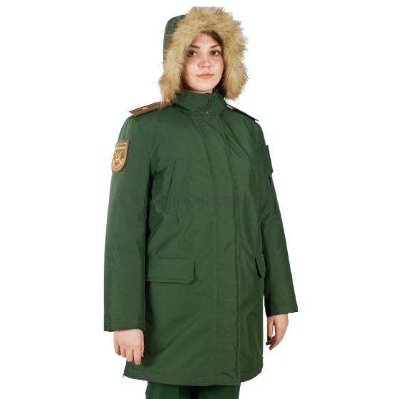 Куртка женская всесезонная МПА-82 (ткань рип-стоп мембрана) зеленая, производитель Магеллан Купить - Интернет-магазин форменной одежды forma-odezhda.ru
