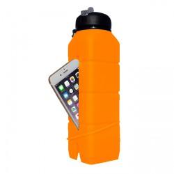 Бутылка-динамик из силикона Ace Camp Sound Bottle 1580 Оранжевая 769 мл