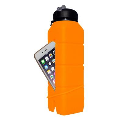 d0f68e26bcd3 Бутылка-динамик из силикона Ace Camp Sound Bottle 1580 Оранжевая 769 ...