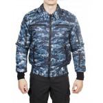 Куртка демисезонная МПА-34 (Пилот), камуфляж с/г цифра твил/файбертек 120