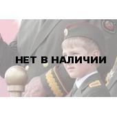 Нагрудный знак Сталин красный фон металл
