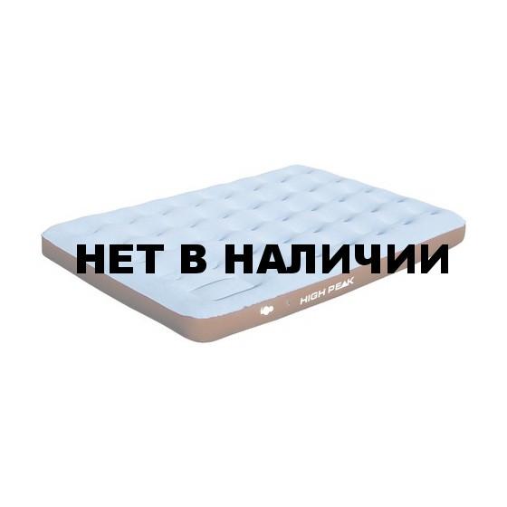 Матрац надувной Air bed Double Comfort Plus синий/коричневый, 210 x 140 x 20 см, 40066