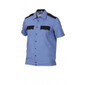 Сорочка, короткий рукав, на поясе с отделкой 547