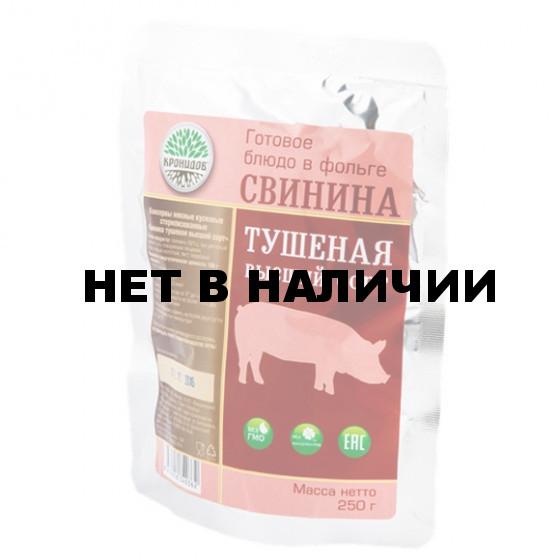 Готовое блюдо Свинина тушеная высш. сорт 325 г (Кронидов)