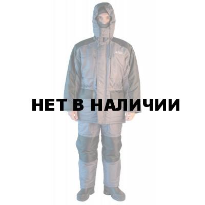 Костюм зимний LOKI SCANDIN ТМ® зимний, куртка/полукомбинезон, ткань Cats EYE, цвет серый, подклад флис