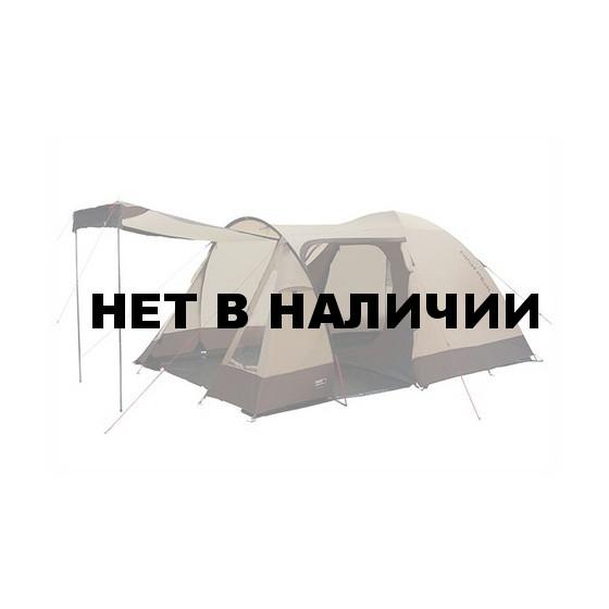 Палатка Caurus 4 коричневый, 390x240х180см, 11495