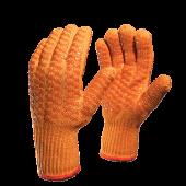 Перчатки трикотажные Захват 7,5кл. хлопок-полиэфир с двусторонним силиконовым покрытием