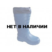 Сапоги ЭВА женские зимние Онега (STEP) -55С, с 4-слойным чулком и манжетой, синие.