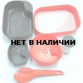 Портативный набор посуды CAMP-A-BOX® COMPLETE PITAYA PINK, W10269