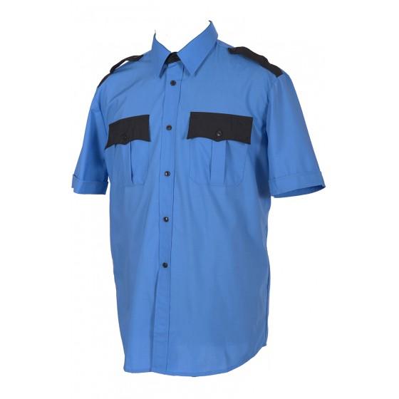 Сорочка, короткий рукав, с отделкой сорочечная 524