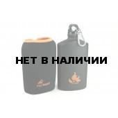 Фляга пищевая алюминиевая с термочехлом ARMY BOTTLE FMP-313, 600