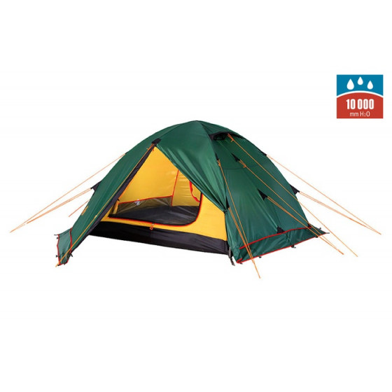 Палатка RONDO 2 Plus Fib green, 9123.2801