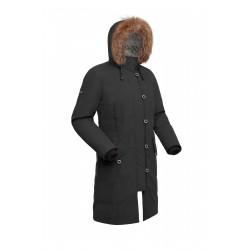 Пальто пуховое женское BASK HATANGA V2 черная