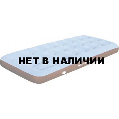 Матрац надувной Air bed Single Comfort Plus синий/коричневый, 195 x 75 x 20 см, 40064