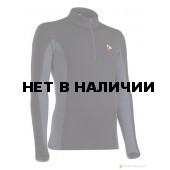 Термобелье мужское куртка T-SKIN MAN черное с темно-серым