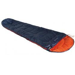 Мешок спальный Action 250 синий/оранжевый, левый, 20082