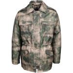 Куртка зимняя М4 камуфлированная мох оксфорд
