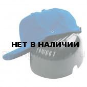 Каскетка-бейсболка (васильковая)