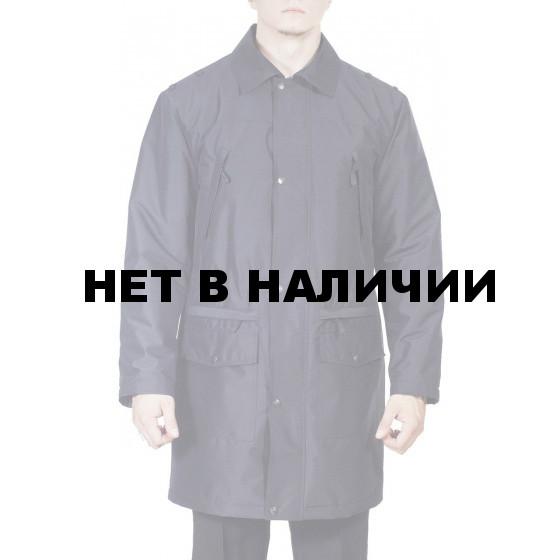 Плащ д/с мужской МПА-60 черный (рип-стоп)