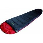 Мешок спальный Action 250 anthrazit/red, левая молния, 20084