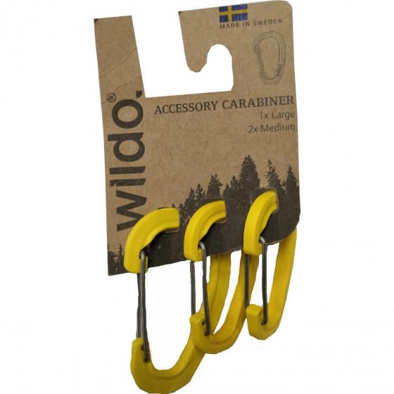 Карабины для аксессуаров в наборе ACCESSORY CARABINER 3-SET от WILDO® LEMON, 89633