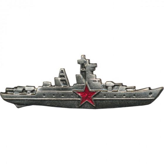 Нагрудный знак Командир корабля звезда металл