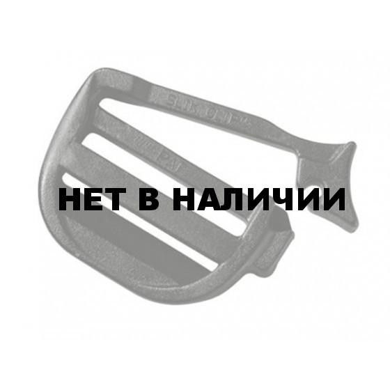 Пряжка трехщелевая регулировочная разъемная 25 мм 1-06713 оливковый Duraflex