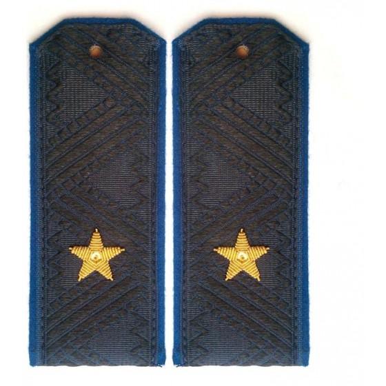 Погоны генерал-майор ФСБ на китель повседневные