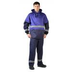 Костюм противоэнцефалитный темно-синий/василек куртка/брюки