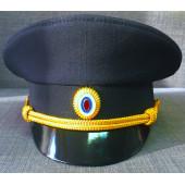 Фуражка Полиция нового образца офисная рип-стоп