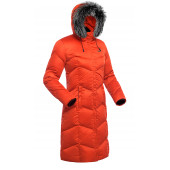 Пальто пуховое женское BASK SNOWFLAKE красное
